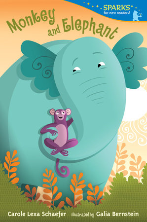 Monkey and Elephant by Carole Lexa Schaefer