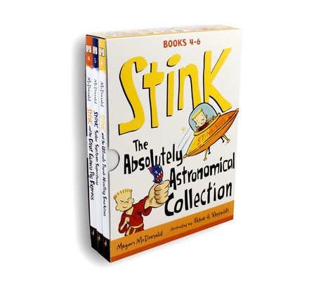Stink: The Absolutely Astronomical Collection by Megan McDonald