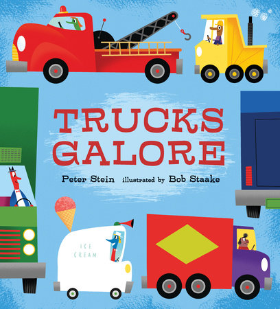 Trucks Galore by Peter Stein