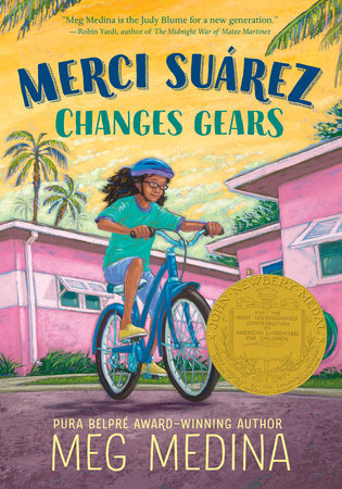 Cover art for the book entitled Merci Suárez Changes Gears