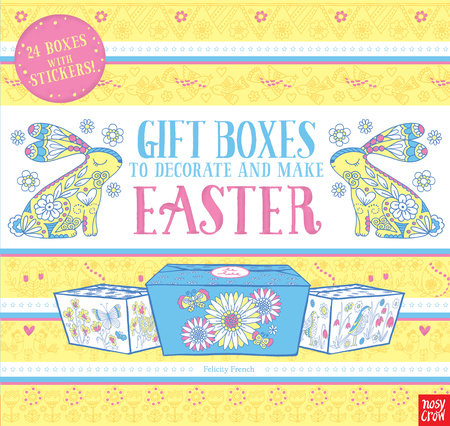 Gift boxes to decorate and make easter by nosy crow gift boxes to decorate and make easter by nosy crow negle Gallery