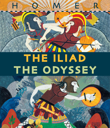 The Iliad/The Odyssey Boxed Set by Gillian Cross