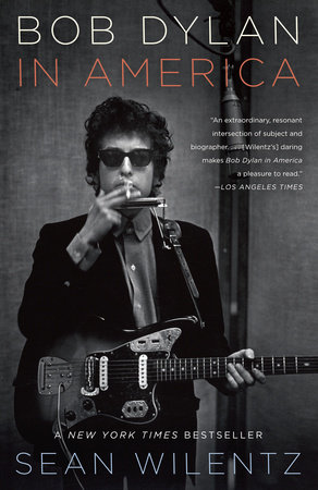 Bob Dylan in America Book Cover Picture