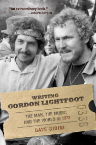 Writing Gordon Lightfoot