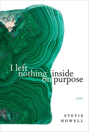 I left nothing inside on purpose by Stevie Howell