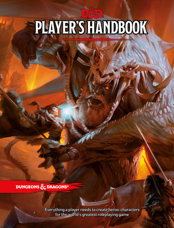 Dungeons & Dragons Player's Handbook (Core Rulebook, D&D Roleplaying Game)