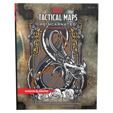 Dungeons & Dragons Tactical Maps Reincarnated (D&D Accessory) by Wizards RPG Team