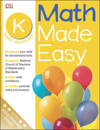 Math Made Easy: Kindergarten by DK Publishing