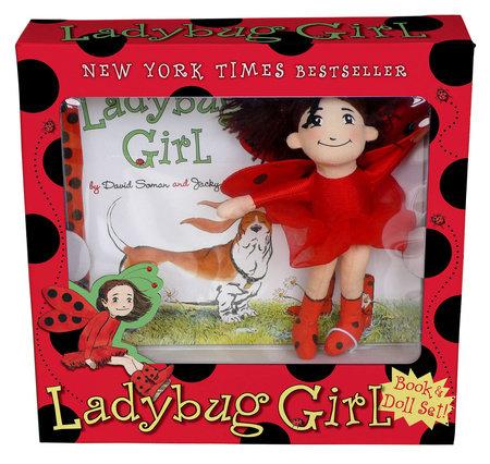 Ladybug Girl Book & Doll Set by Jacky Davis