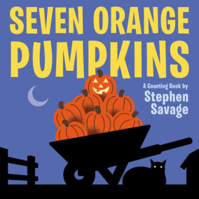 Seven Orange Pumpkins board book