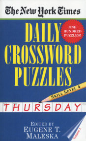 The New York Times Daily Crossword Puzzles: Thursday, Volume 1