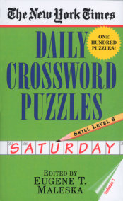 The New York Times Daily Crossword Puzzles: Saturday, Volume 1