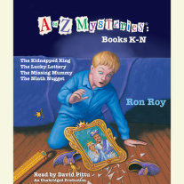 A to Z Mysteries: Books K-N Cover