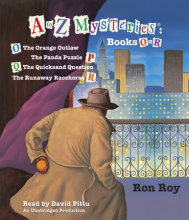 A to Z Mysteries: Books O-R Cover