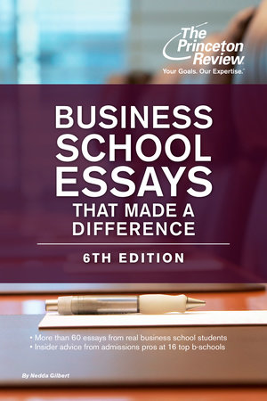 best book for mba essays
