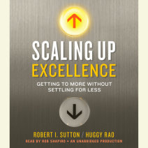 Scaling Up Excellence Cover