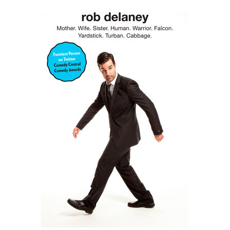 Rob Delaney Book Cover Picture