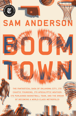 The cover of the book Boom Town