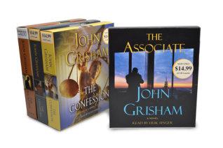 John Grisham CD Audiobook Bundle #2 Cover