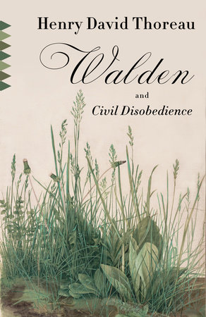 Walden & Civil Disobedience Book Cover Picture