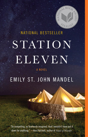 The cover of the book Station Eleven