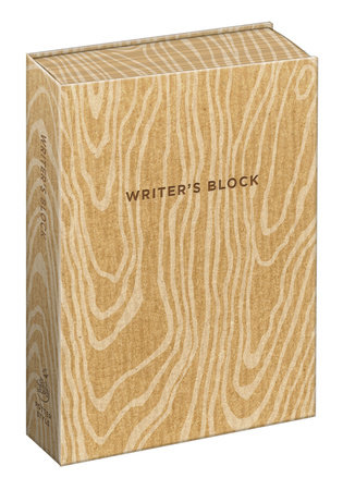 Writer's Block Journal by Potter Gift