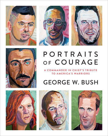 The cover of the book Portraits of Courage