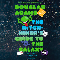 The Hitchhiker's Guide to the Galaxy Cover