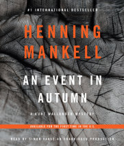 An Event in Autumn Cover