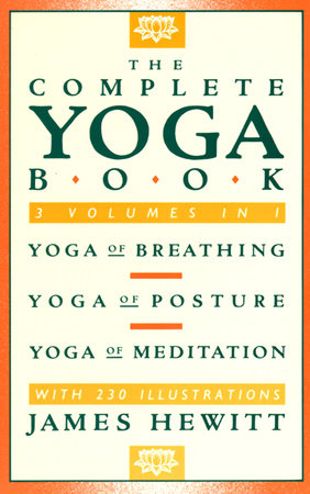 COMPLETE YOGA BOOK by James Hewitt