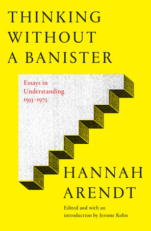 The cover of the book Thinking Without a Banister