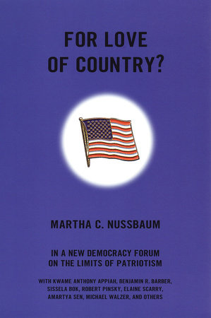 For Love of Country? by Martha Nussbaum