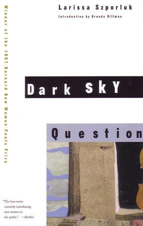Dark Sky Question by Larissa Szporluk