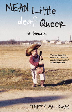 The cover of the book Mean Little deaf Queer