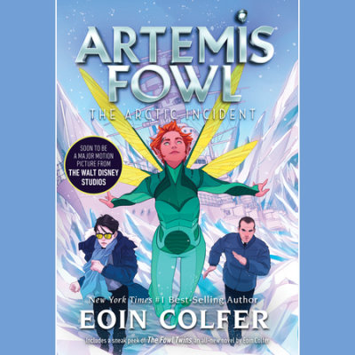 Artemis Fowl 2: The Arctic Incident cover