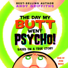 The Day My Butt Went Psycho Cover