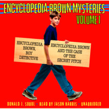 Encyclopedia Brown Mysteries, Volume 1 Cover