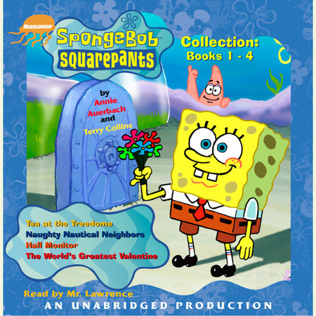 SpongeBob Squarepants Collection: Books 1 - 4 by Annie Auerbach and Terry Collins