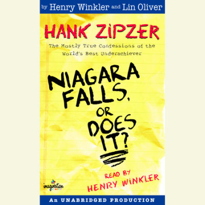 Hank Zipzer #1: Niagara Falls, Or Does It? cover