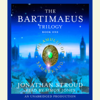 The Bartimaeus Trilogy, Book One: The Amulet of Samarkand Cover