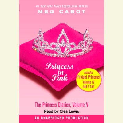 The Princess Diaries, Volume V: Princess in Pink cover
