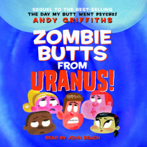 Zombie Butts From Uranus! Cover