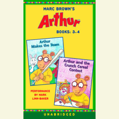Marc Brown's Arthur: Books 3 and 4 cover