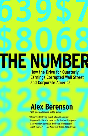 The Number By Alex Berenson 9780812966251 Penguinrandomhouse Com Books