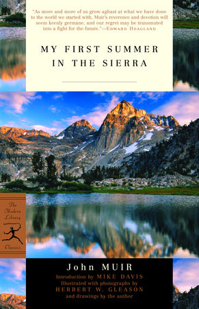 My First Summer in the Sierra Book Cover Picture