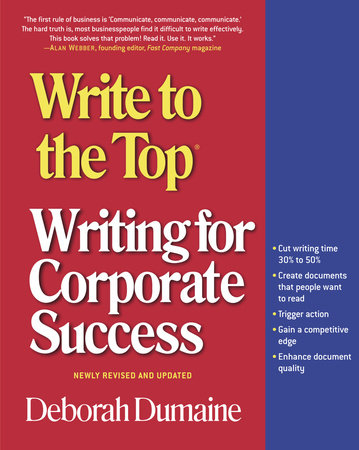 Write to the Top by Deborah Dumaine