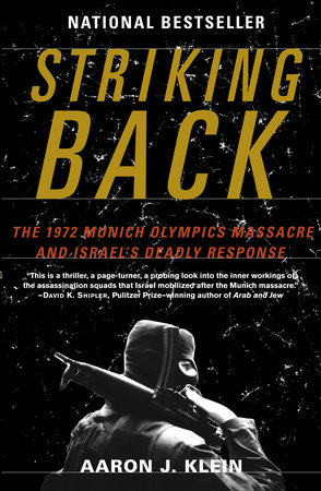 Striking Back Book Cover Picture