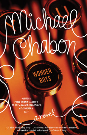 The cover of the book Wonder Boys