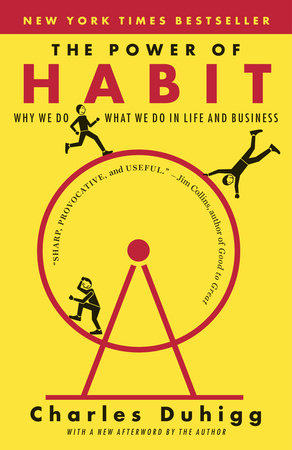 The cover of the book The Power of Habit