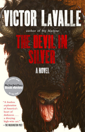 The cover of the book The Devil in Silver